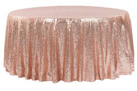 Champagne Sequin Tablecloth  Sparkly Tablecloth Sequin Tablecloth