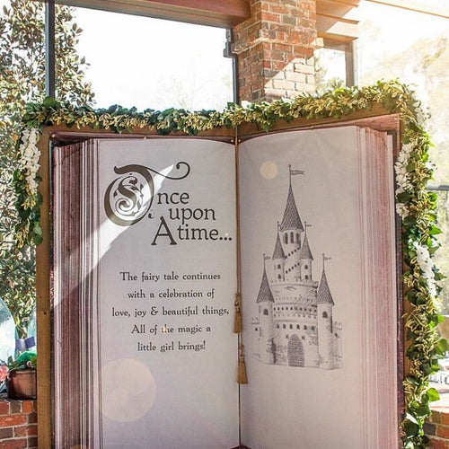 Story Book Backdrop for Wedding Decor - [product_tag] - ubackdrop