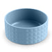 Diamond Ceramic Blue Pet Bowl (Set of 2)