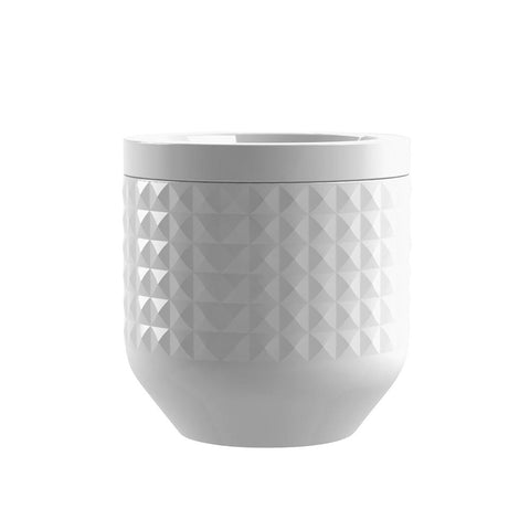DIAMOND CERAMIC CANISTER - Abode Homewares
