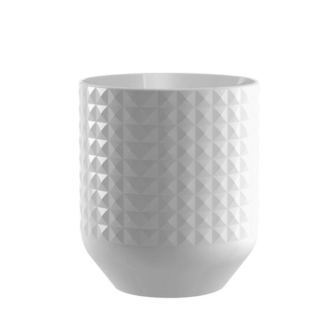 DIAMOND CERAMIC UTENSIL CROCK