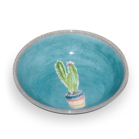 Cactus Pet Saucer (Set of 2)