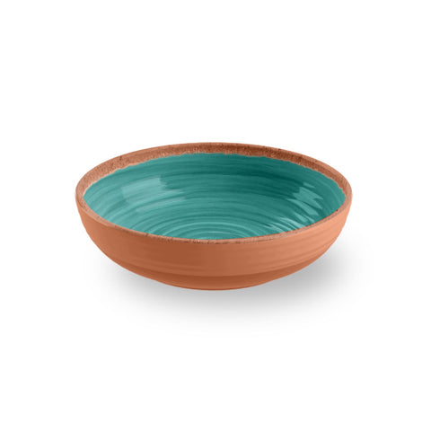RUSTIC SWIRL BOWL - Abode Homewares