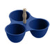COBALT CASITA 3-SECTION SERVER - Abode Homewares
