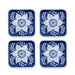 Cobalt Casita Coasters (Set of 4)