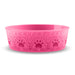 Medallion Paw Print Medium Pet Bowl (Set of 2)