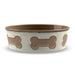 Bone Emboss Large Pet Bowl (Set of 2)