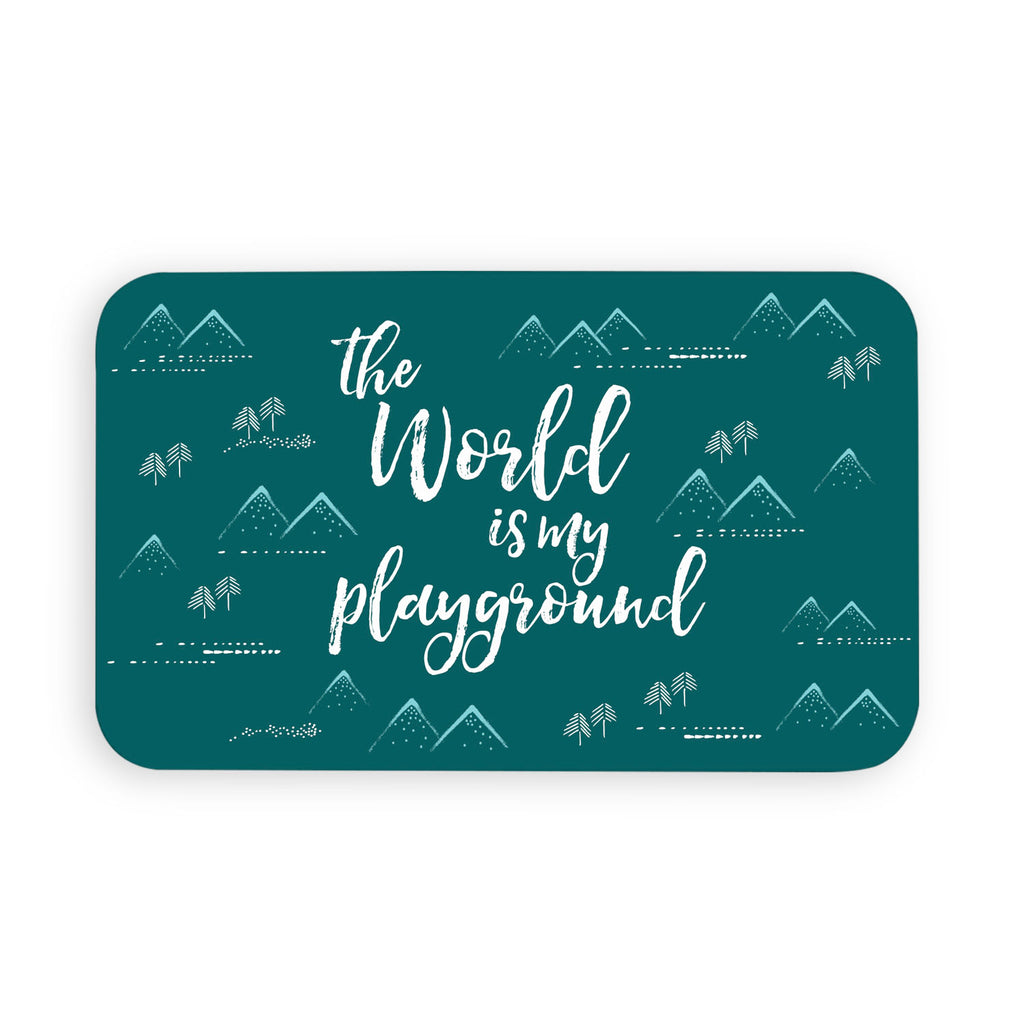 "Playground Pet Placemat, 11.5"" x 19"""