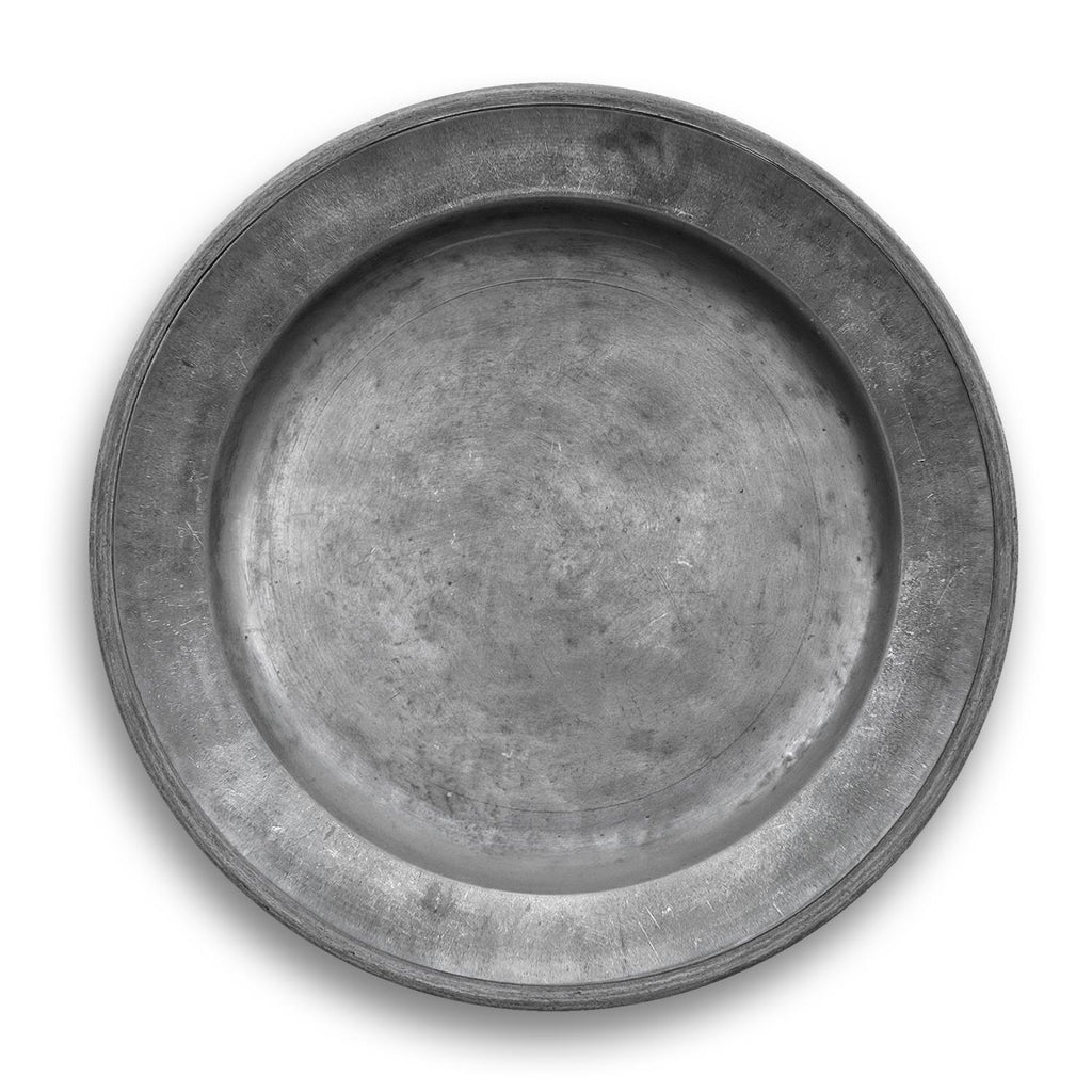 PEWTER CHARGER - Abode Homewares