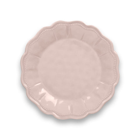 SAVILLE SCALLOP SALAD PLATE HEAVY MOLD - Abode Homewares