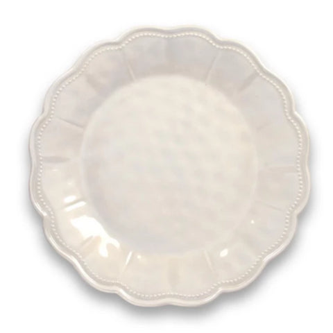 SAVILLE SCALLOP DINNER PLATE HEAVY MOLD - Abode Homewares