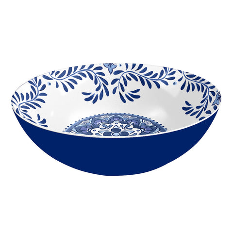 COBALT CASITA SERVE BOWL - Abode Homewares