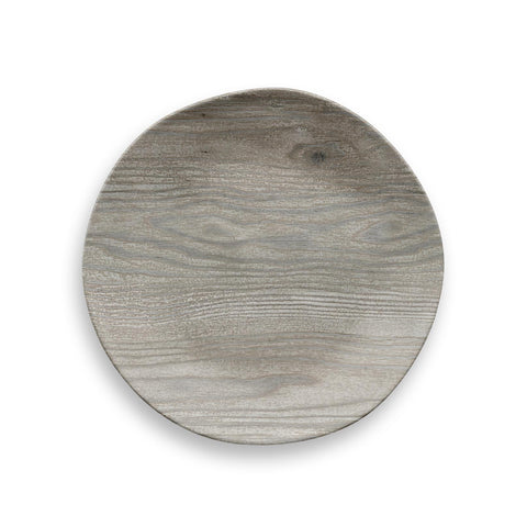 FRENCH OAK SALAD PLATE - Abode Homewares