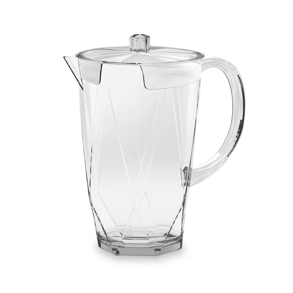 70 Oz Prism Pitcher W/Lid Clear