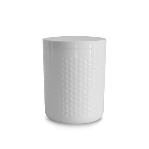 MOTO WHITE CANISTER - Abode Homewares