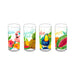 19 OZ TROPICAL VIBES SET OF 4 JUMBO - Abode Homewares