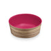 NATURAL ACACIA MEDIUM PET BOWL - Abode Homewares
