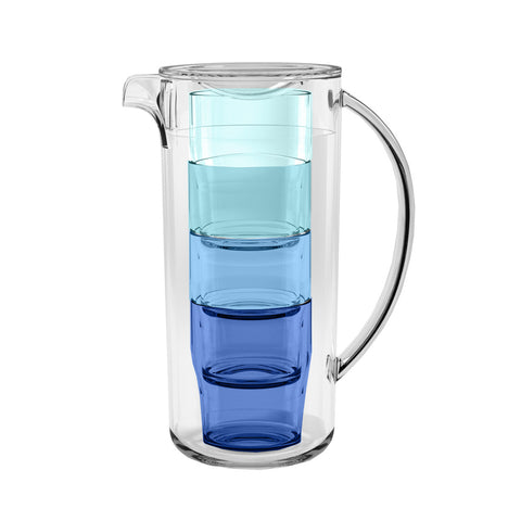 91 oz Simple Nested Pitcher (5-PC Set)