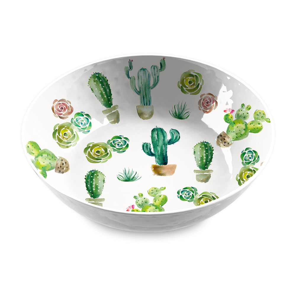 DESERT GARDEN SERVE BOWL