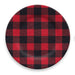 VINTAGE LODGE BUFFALO CHECK DINNER PLATE - Abode Homewares
