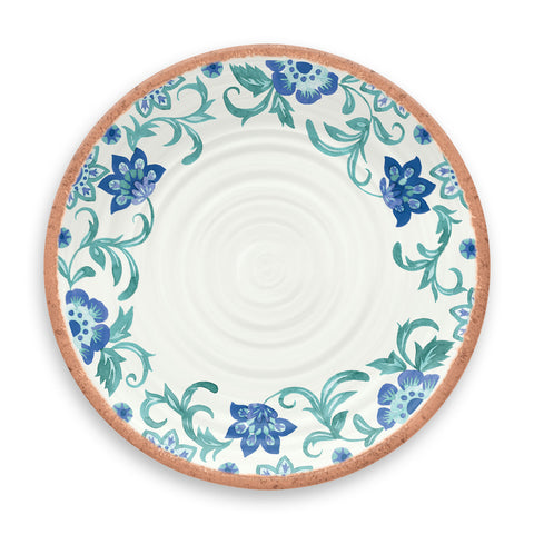 Rio Turquoise Floral Dinner Plate (Set of 6)