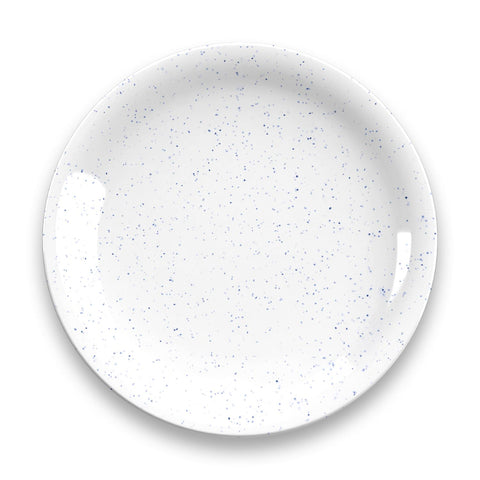 Homemade Navy Speckle Dinner Plate Set Of 4