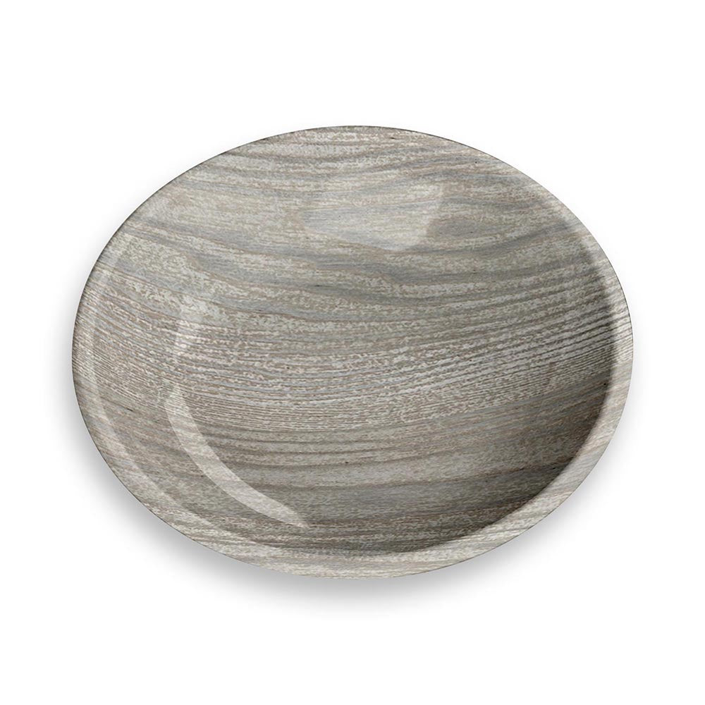 GREY FRENCH OAK SAUCER - Abode Homewares