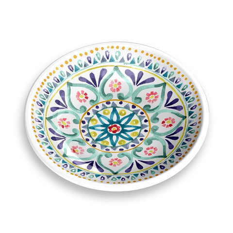 BOHO MEDALLION SAUCER - Abode Homewares