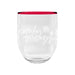 Holiday Cozy Stemless Glass, 15 oz., Melamine, Set of 6