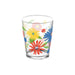 Midsummer Floral Double Old Fashion Glass, 15oz., Premium Plastic, Set of 4