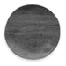"Faux Real Blackened Wood Dinner, 10.5"", Planta (Majority Plant Based Melamine Material), Set of 6"