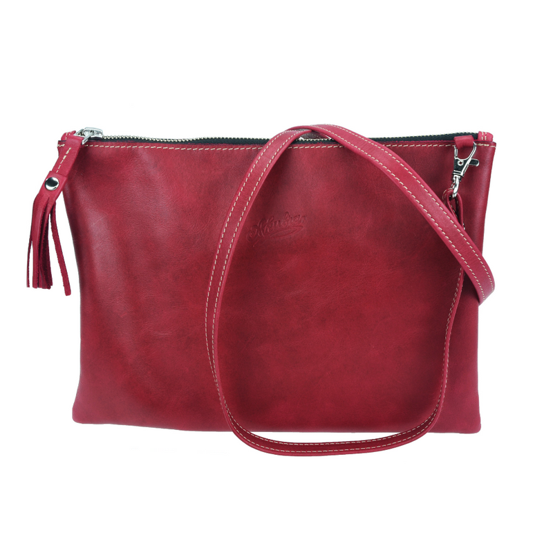 Georgina Pouch - Rodeo Red