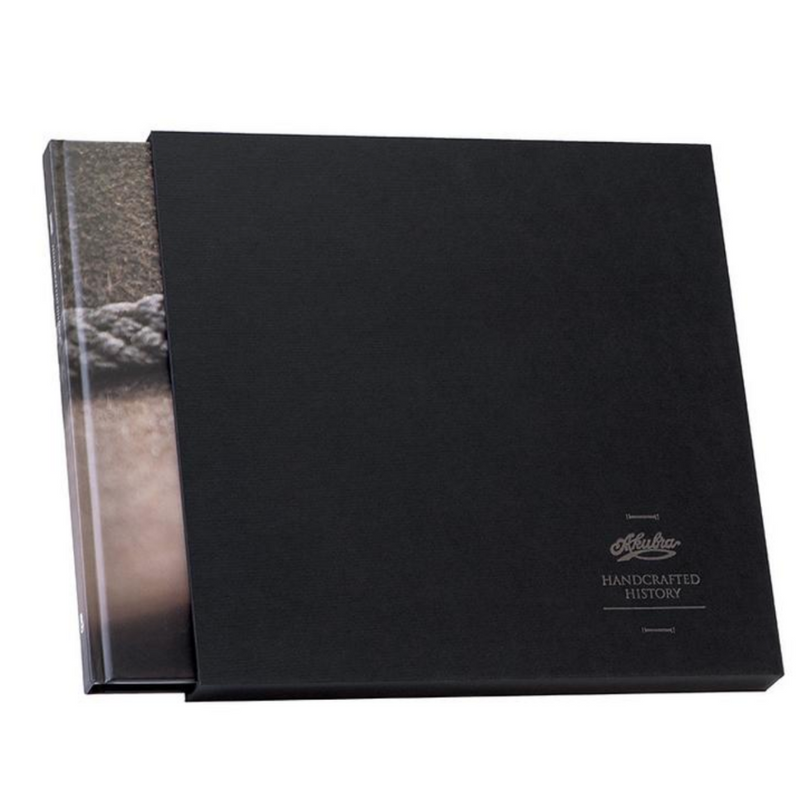 Akubra Handcrafted History book in presentation sleeve
