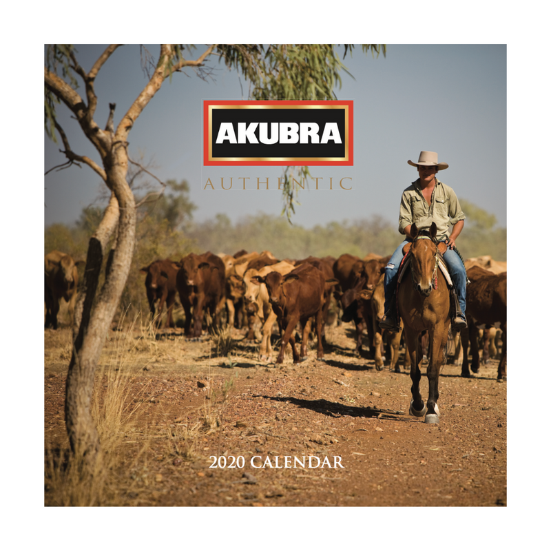 Akubra 2020 Calendar & Handcrafted History Book