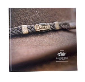 Akubra - Handcrafted History Book & Felt Bag