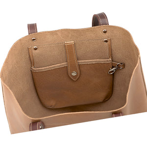 Darling Tote - Tan Hide Leather