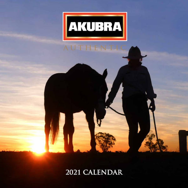 Akubra 2021 calendar, proceeds to Royal Far West children's charity - cover