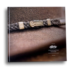 The Akubra Handcrafted History book telling the story of Akubra