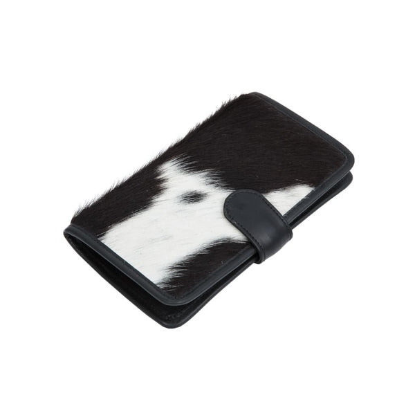 Cotter Wallet - Cowhide Black & White - Cotter Wallet