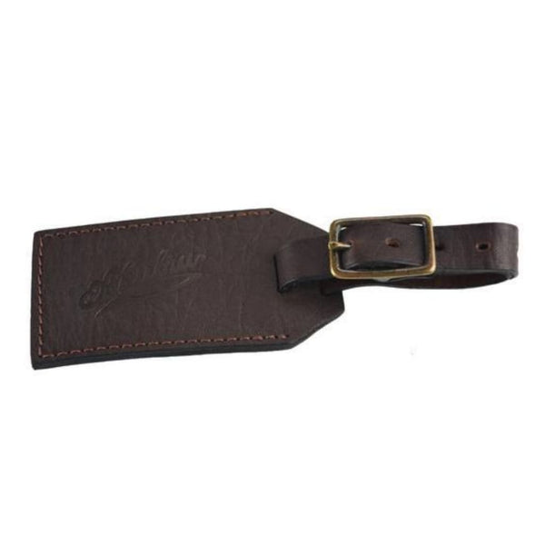 Eyre Luggage Tag - Brown Leather - Luggage Tag