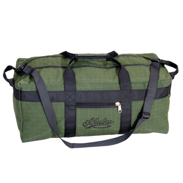 Hunter Heavy Duty Ripstop Canvas 65L Gear Bag - Green - Drum