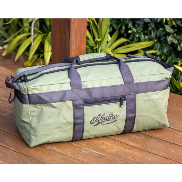 Hunter Heavy Duty Ripstop Canvas 65L Gear Bag - Kakadu Green