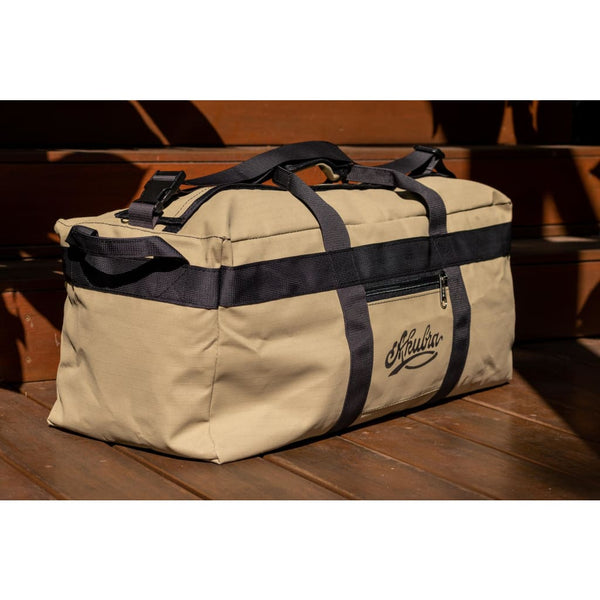 Hunter Heavy Duty Ripstop Canvas 65L Gear Bag - Sand - Drum