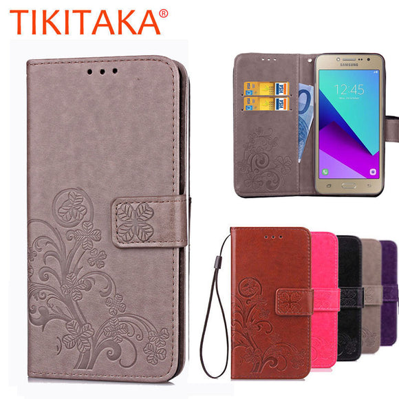For Coque Samsung Galaxy J2 Prime Cover Luxury Wallet Leather Flip Case For Samsung J2 Case With Card Slots For Samsung J2 Prime - Bonnies Bargain Boutique
