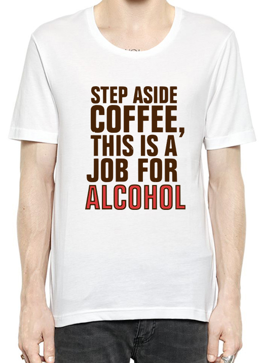 Step Aside Coffee T-Shirt For Men - Bonnies Bargain Boutique