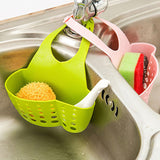 Portable Hanging Drain Bag for kitchen or Bathroom .Sink Holder for soap,or sponges,brushes etc. - Bonnies Bargain Boutique