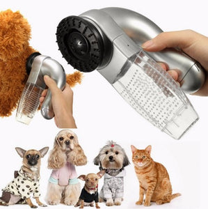 Cat & Dog loose Hair / Fur Remover -massaging  Vacuum - Bonnies Bargain Boutique