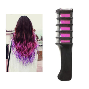Hot New Temporary Permanent Hair Color Chalk Powder With Comb - Bonnies Bargain Boutique