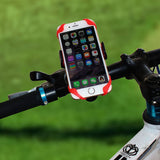 Robotsky Universal Phone Holder For Bicycle. Cellphone Cradle Handlebar Clip Stand Mount Bracket - Bonnies Bargain Boutique