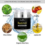 Retinol Moisturizer Cream For Face and Eye Area.  1.7 Oz With Retinol Hyaluronic Acid - Bonnies Bargain Boutique